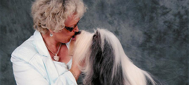 Donna Summer kissing with Conny